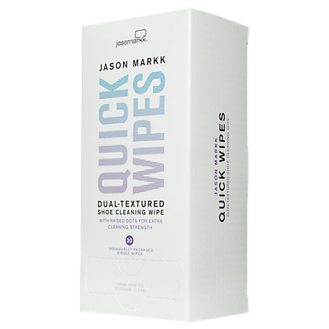 Jason Markk Premium Shoe Cleaner Quick Wipes - 30 Pack