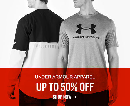 Under Armour Apparel Up To 50% Off