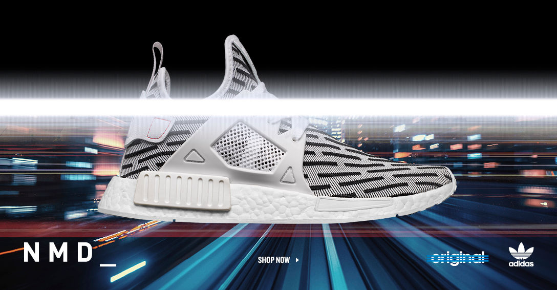 adidas NMD. Shop Now.
