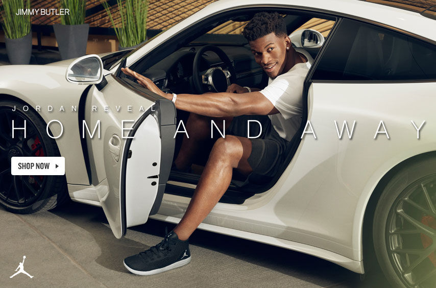 Jimmy Butler. Home and Away. Jordan Reveal.