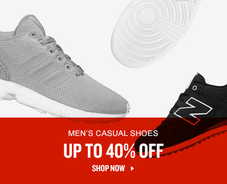 Men's Casual Shoes Up To 40% Off. Shop Now.