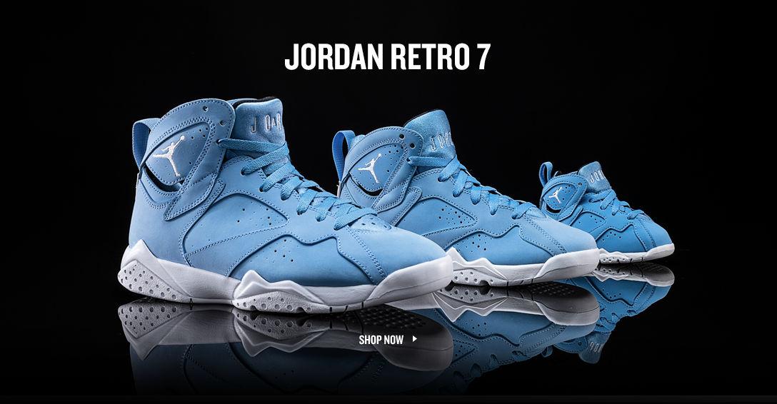 Jordan Retro 7. Shop Now.