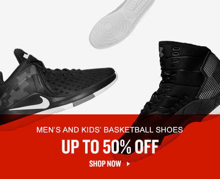 Men's and Kids' Basketball Shoes Up To 50% Off. Shop Now.
