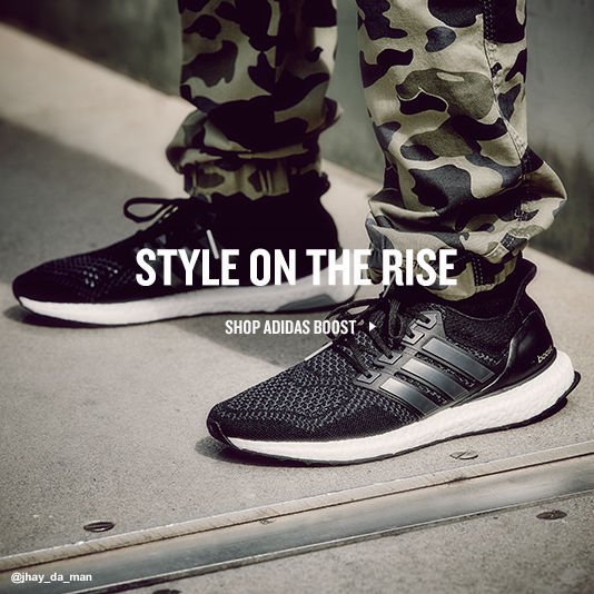 Style on the Rise. Shop adidas Boost.