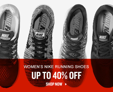 Women's Nike Running Shoes Up To 40% Off. Shop Now.