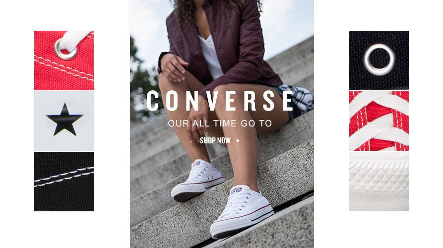 Women's Converse. Shop Now.