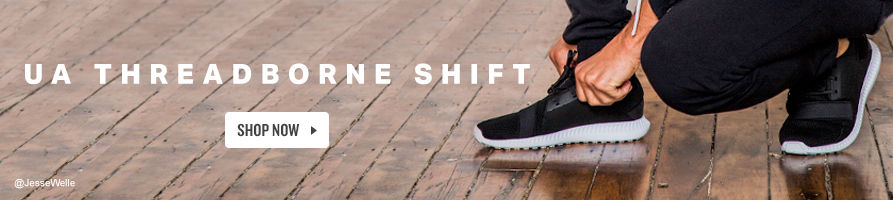 UA Threadborne Shift. Shop Now.