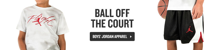 Ball Off the Court. Shop Boys' Jordan Apparel.