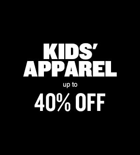 Kids's Apparel Up to 40% Off