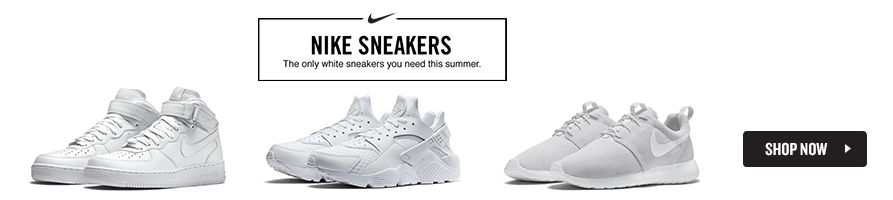 The Only White Sneaker You Need. Shop Now.