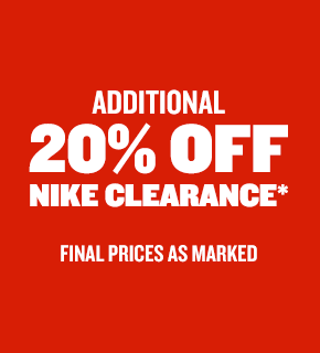 Additional 20% off Nike Deals. Shop now.