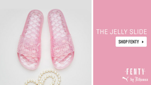 PUMA Fenty Jelly Slide. Shop Now.