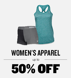 Women's Apparel Up to 40% Off