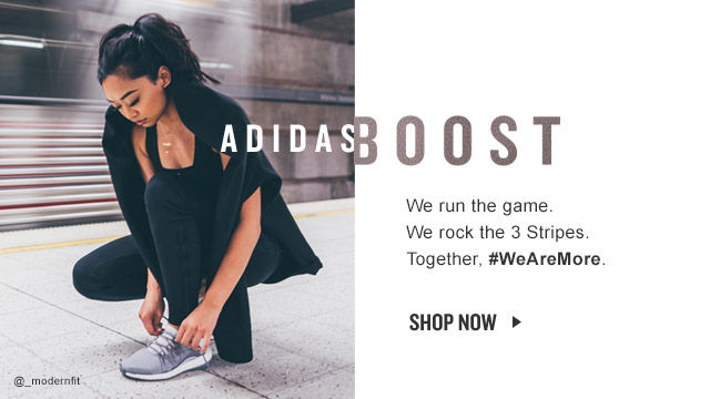 adidas Boost. Shop Now.