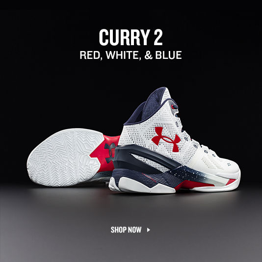 Curry 2 Red, White, and Blue. Shop Curry.