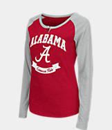 Women's Stadium Alabama Crimson Tide College Long-Sleeve Healy Raglan T-Shirt