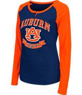 Women's Stadium Auburn Tigers College Long-Sleeve Healy Raglan T-Shirt