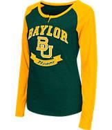 Women's Stadium Baylor Bears College Long-Sleeve Healy Raglan T-Shirt