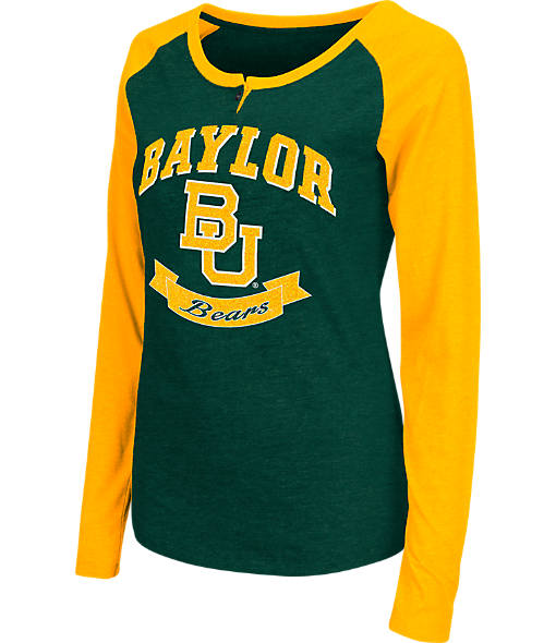 Women's Stadium Baylor Bears College Long-Sleeve Healy Raglan T-Shirt