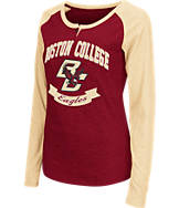 Women's Stadium Boston College Eagles College Long-Sleeve Healy Raglan T-Shirt