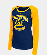 Women's Stadium Cal Golden Bears College Long-Sleeve Healy Raglan T-Shirt