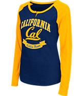 Women's Stadium Cal Golden Bears College Long-Sleeve Healy Raglan T-Shirt