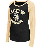 Women's Stadium Central Florida Knights College Long-Sleeve Healy Raglan T-Shirt
