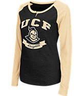 Women's Stadium Central Florida Knights College Long-Sleeve Healy Raglan T-Shirt