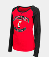 Women's Stadium Cincinnati Bearcats College Long-Sleeve Healy Raglan T-Shirt