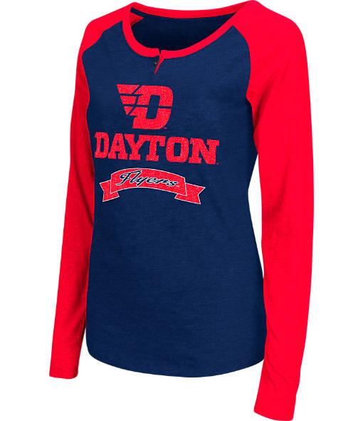 Women's Stadium Dayton Flyers College Long-Sleeve Healy Raglan T-Shirt