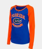 Women's Stadium Florida Gators College Long-Sleeve Healy Raglan T-Shirt
