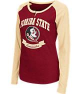 Women's Stadium Florida State Seminoles College Long-Sleeve Healy Raglan T-Shirt