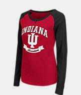 Women's Stadium Indiana University College Long-Sleeve Healy Raglan T-Shirt