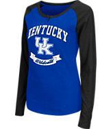 Women's Stadium Kentucky Wildcats College Long-Sleeve Healy Raglan T-Shirt
