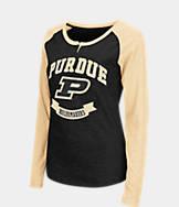 Women's Stadium Purdue Boilermakers College Long-Sleeve Healy Raglan T-Shirt
