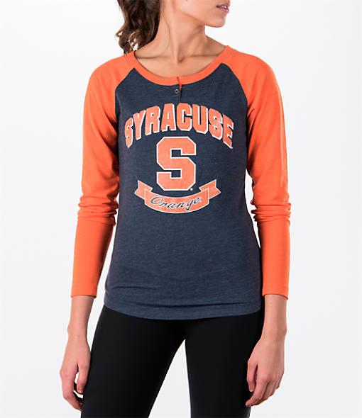 Women's Stadium Syracuse Orange College Long-Sleeve Healy Raglan T-Shirt