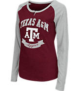 Women's Stadium Texas A&M Aggies College Long-Sleeve Healy Raglan T-Shirt