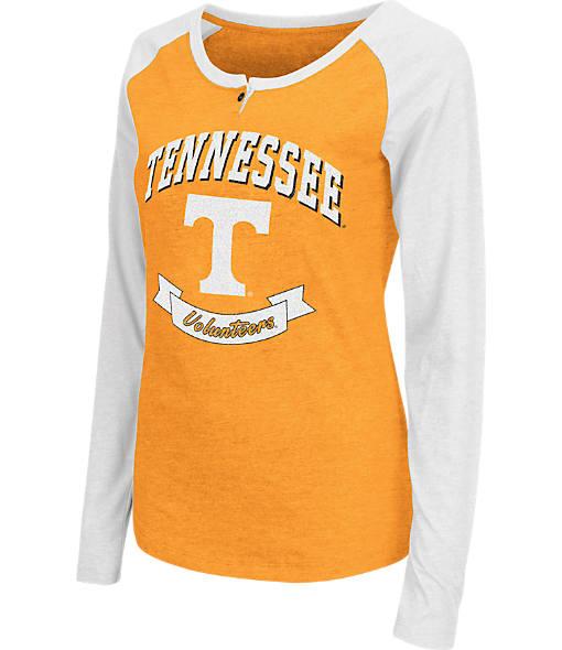 Women's Stadium Tennessee Volunteers College Long-Sleeve Healy Raglan T-Shirt