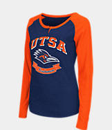 Women's Stadium Texas- San Antonio Roadrunners College Long-Sleeve Healy Raglan T-Shirt