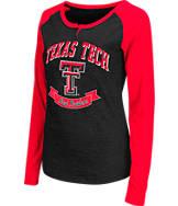 Women's Stadium Texas Tech Red Raiders College Long-Sleeve Healy Raglan T-Shirt