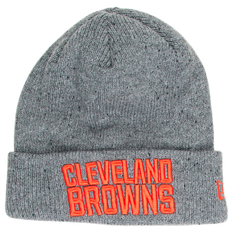 New Era Cleveland Browns NFL Heathered Spec Knit Hat