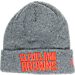 Front view of New Era Cleveland Browns NFL Heathered Spec Knit Hat in Team Colors