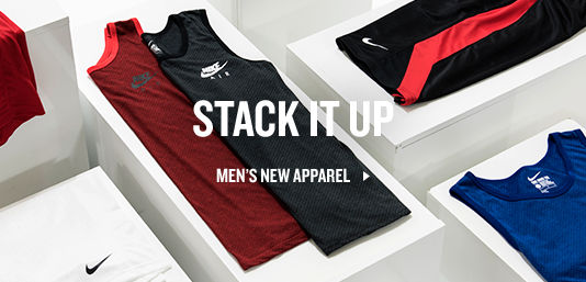 Shop Men's Apparel.