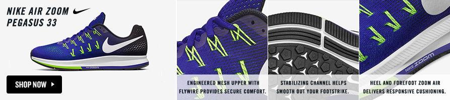 Nike Air Zoom Pegasus 33. Shop Now.