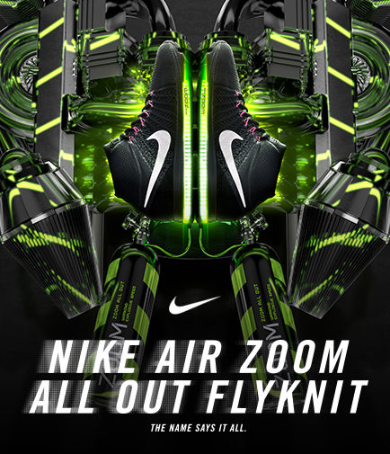 Nike Air Zoom All Out Flyknit.