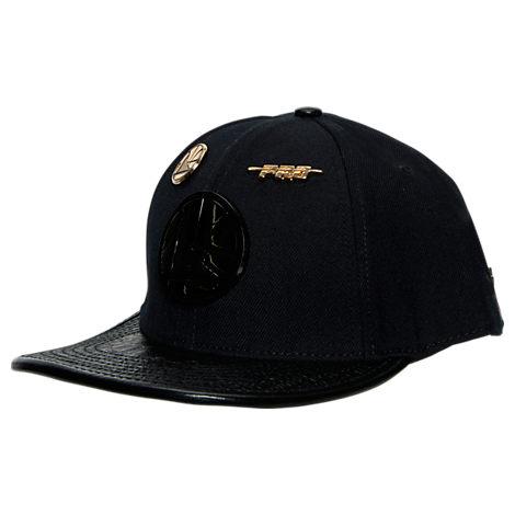Pro Standard Golden State Warriors NBA Metal Plate Adjustable Hat
