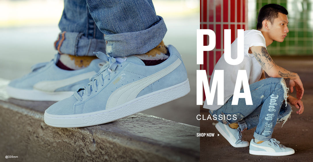 PUMA Classics. Shop Now.