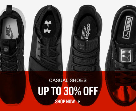 Casual Shoes Up To 30% Off. Shop Now.