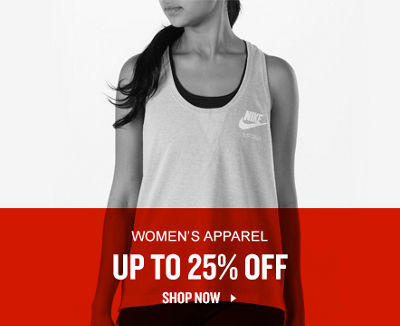 Women's Apparel Up To 25% Off. Shop Now.