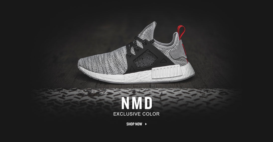 Adidas NMD. Finish Line Exclusive Color. Shop Now.